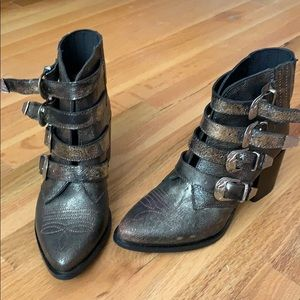 Steve Madden prairie boots